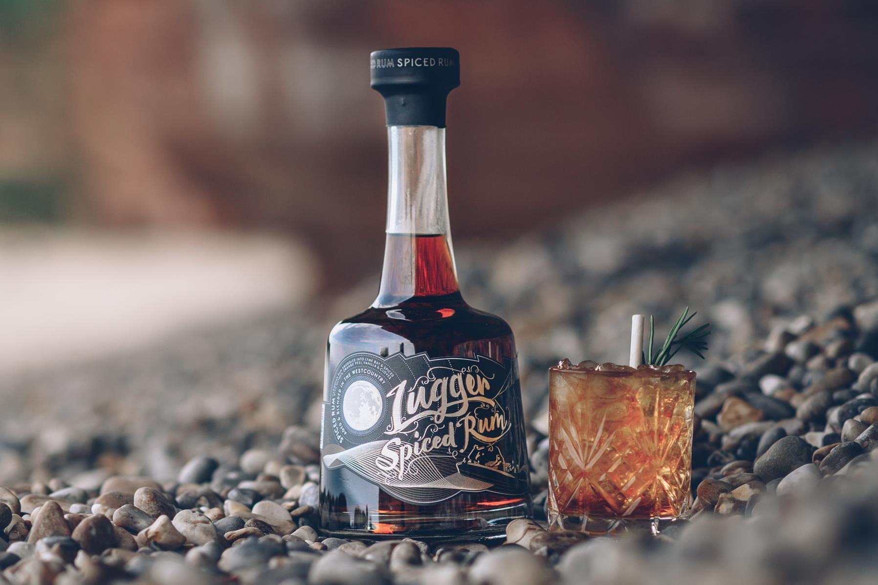 lugger rum on devon beach wins gold award