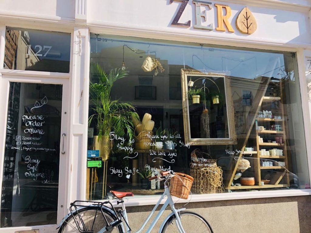 zero exeter shopfront