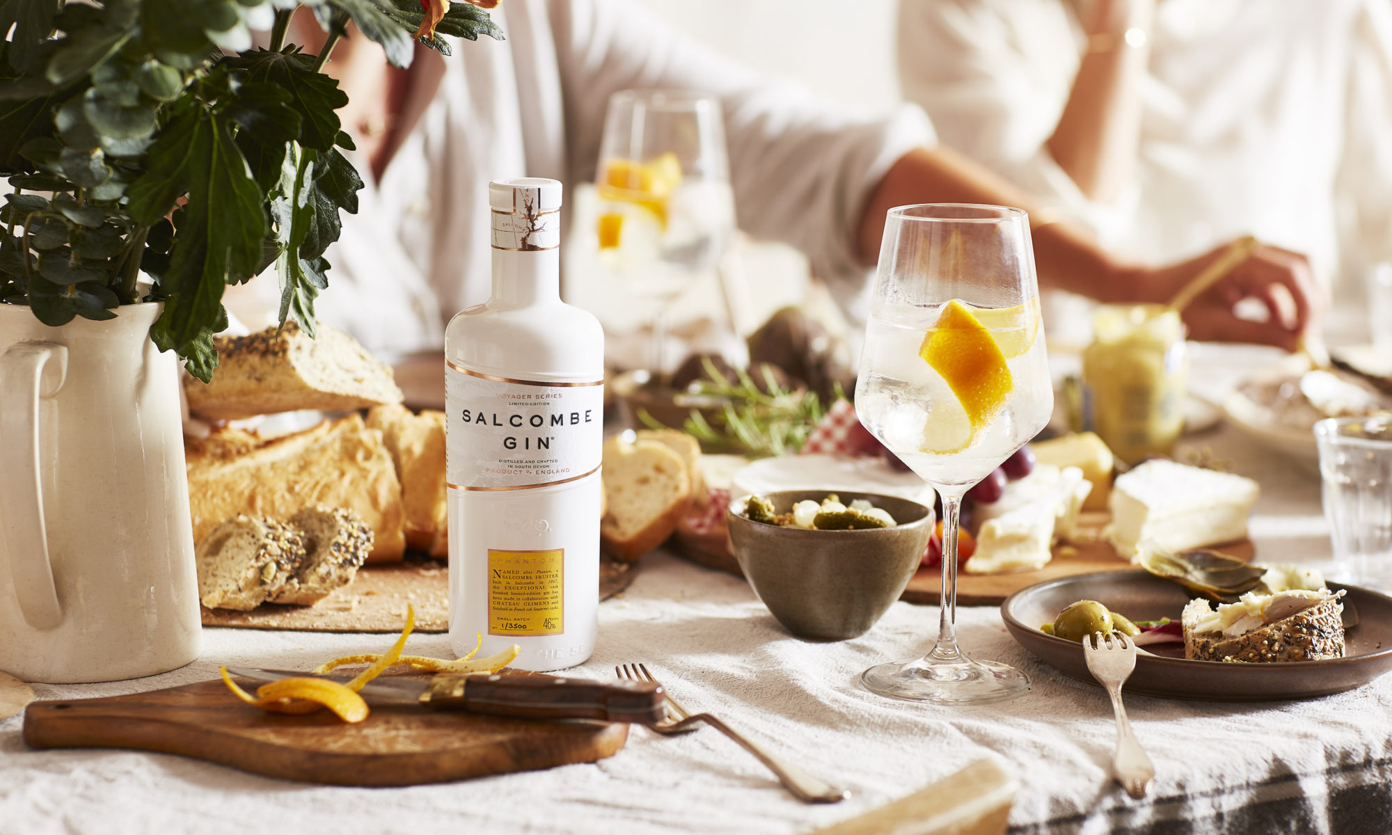salcombe Distilling Co. launch limited edition cask aged gin - 'Phantom